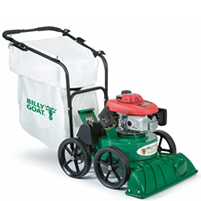 Billy Goat Self-propelled outdoor vacuum